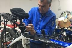 preparazione bici
