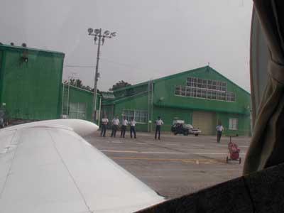 Foto 'rubata' di Frank Pecorari alla partenza da Hamamatsu AFB