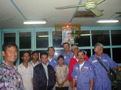 Foto di gruppo in torre...