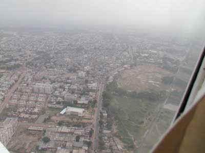 Decollo da Ahmedabad