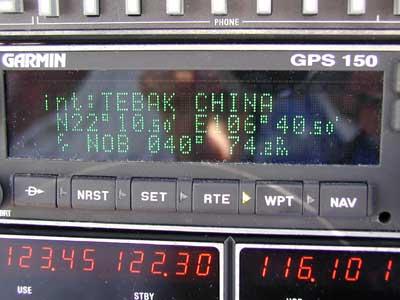 Siamo a TEBAK, siamo in Cina