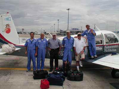 Chiang Mai, foto di gruppo con il Col. Scodellaro