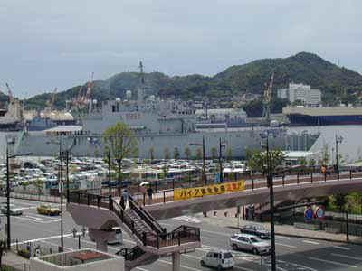 In porto la nave San Giusto, orgoglio della nostra Marina Militare