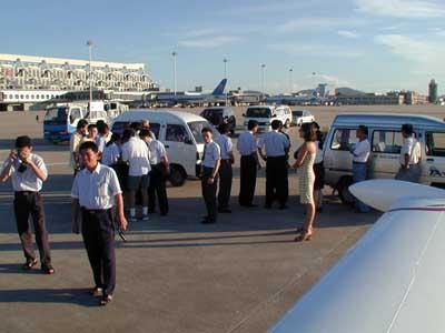 ...ma sono le discussioni sulle tasse di atterraggio che animano l'aeroporto